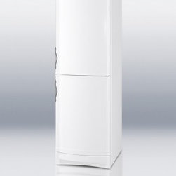 "Summit - CP171MED 24"" 12.0 cu.ft. Thin-line Refrigerator with a Bottom Freezer  Two Digit - SUMMIT CP171MED is a slim refrigerator-freezer fully featured for quality cooling for medical laboratory and scientific applicationsThis bottom freezer unit is equipped with two compressors for independent cooling of each section with a low maintenan..."