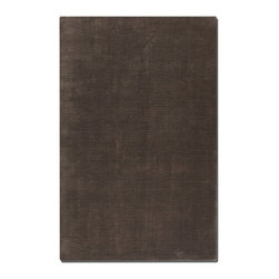 Uttermost - Uttermost Danube 8 x 10 Rug - Dark Lava 73017-8 - Medium Cut Viscose In A Combination Of Charcoal And Brown.