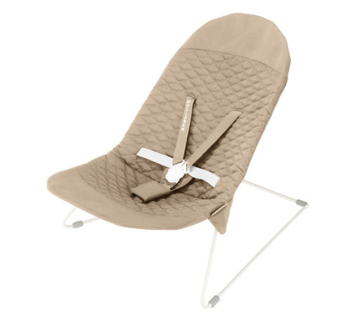 Travel Bouncer - This simple bouncer will allow you to cart baby around from room to room without disturbing your home's aesthetics. Sleek and safe, this bouncer will let baby watch you go about your day--and you won't have to sacrifice by looking at an ugly bouncer in your beautiful space.