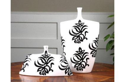 "Modern Vases by Santa Monica Bay Lighting Since ""1976"""