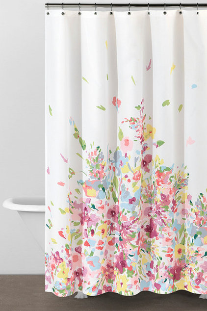 Contemporary Shower Curtains by Donna Karan Home Collections