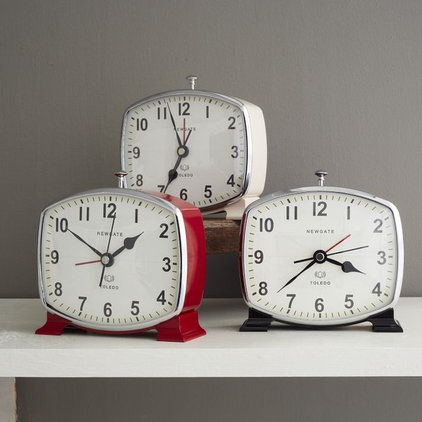Traditional Alarm Clocks by West Elm