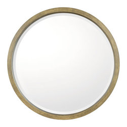 Capital Lighting - Capital Lighting M322401 Decorative Mirror Collection Beveled Round Framed Mirro - Product Features:
