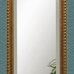 Bassett Mirror - Arabella Cheval - Antique Gold - M2638B - Arabella Collection Cheval