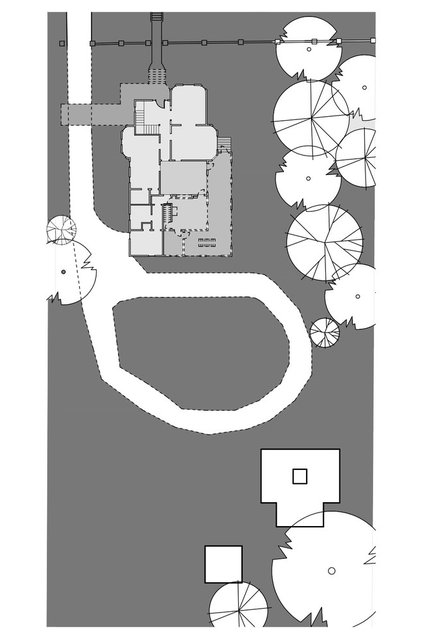 Site And Landscape Plan by Anne Niedergang, Architect
