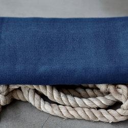 Bath - sea blue gauze towel