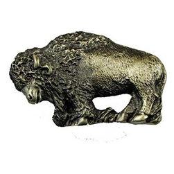 Sierra Lifestyles - Buffalo Pull - Antique Brass (SIE-681479) - Buffalo Pull - Antique Brass