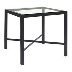 Parson Square Pub Table (Counter Height) by Charleston Forge - Dimensions: