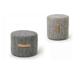 contemporary ottomans and cubes by YLiving