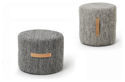 Contemporary Footstools And Ottomans by YLiving.com