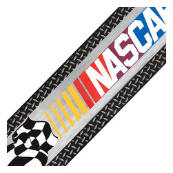 York Wallcoverings - Nascar Checkered Flag Prepasted Wall Border Roll - Features: