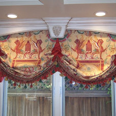 Roman Shades by Draperies By Walter