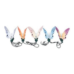 "Creative Motion - Butterfly Fiber Optic Light String - Butterflies were once considered ""flutterbys"" with their glorious lilting wing-motion. And this lovely fleet of 10 fiber optic butterfly string lights will be sure to set your heart a-flutter. These multicolored butterflies will not only illuminate your path but also enchant you and your guests all evening."