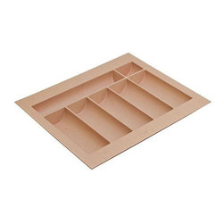 Hafele - 14 in. Cutlery Tray - Can be trimmed to fit drawer.