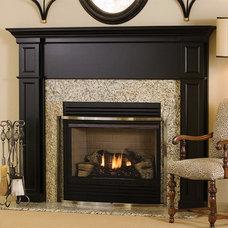 Traditional Indoor Fireplaces by MantelsDirect.com