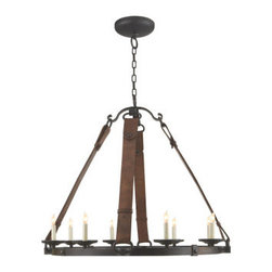 alvarez chandelier simply sophisticated this aged iron chandelier. Black Bedroom Furniture Sets. Home Design Ideas