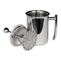 Milk Frother, Mirror Finish, 18 oz.