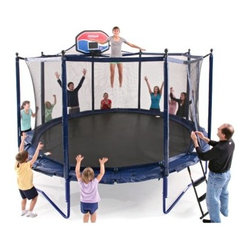 JumpSport Elite 14-ft. PowerBounce Trampoline with Enclosure