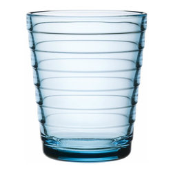 Iittala - Aino Aalto Tumbler, 7.75 Oz., Light Blue - Express yourself stylishly with these exquisite tumblers. Delightful to hold, look at and drink from, they bring a classic modern touch to your table.