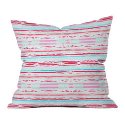 Hadley Hutton Floral Tribe Collection 6 Outdoor Throw Pillow - Do you hear that noise? it's your outdoor area begging for a facelift and what better way to turn up the chic than with our outdoor throw pillow collection? Made from water and mildew proof woven polyester, our indoor/outdoor throw pillow is the perfect way to add some vibrance and character to your boring outdoor furniture while giving the rain a run for its money.