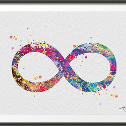 KidsPlayHome - Magic Infinity Wall Art - Playroom Art Print