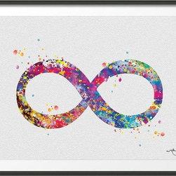 KidsPlayHome - Magic Infinity Wall Art - Playroom Art Print