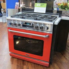 contemporary gas ranges and electric ranges by Curto's Appliances