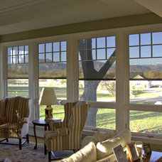 Modern Roller Shades by Solar Shading Systems