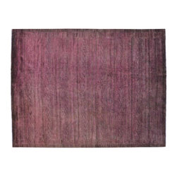 Modern Gabbeh Burgundy Overdyed 6x8 100% Wool Hand Knotted Oriental Rug SH15388 - Our Modern & Contemporary Rug Collections are directly imported out of India & China.  The designs range from, solid, striped, geometric, modern, and abstract.  The color schemes range from very soft to very vibrant.