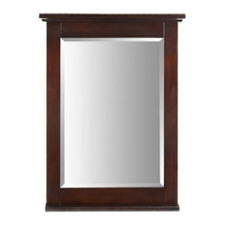 "Xylem Group - Glenayre Mirror 24"" - Dark Espresso - Glenayre Mirror 24"" - Dark Espresso"