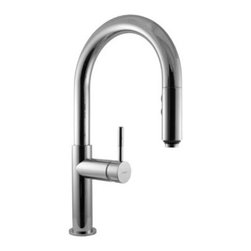Graff - Graff - Perfeque Single Lever Pull-Down Kitchen Faucet - G-4610-LM3-PC - Perfeque Collection