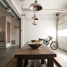 Industrial Dining Room by Lucy Call