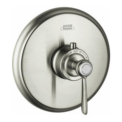 Hansgrohe - Hansgrohe Axor Montreux Thermostatic Trim with Lever Handle (16824821) - HansGrohe 16824821 Axor Montreux Thermostatic Trim with Lever Handle, Brushed Nickel