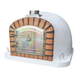 Brick Pizza Oven, Outdoor, Wood Fired, Hand Made in Portugal - Wood Fired Outdoor Brick Pizza Oven
