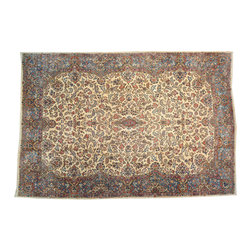 Hand Knotted Palace Size 14'x20' Antique Persian 100% Wool Kerman Rug SH13714 - Oriental rugs are famously known to gain more value over time. An authentic Antique hand knotted rug is not only an instant centerpiece in any setting, but is a wonderful investment which only increases over the years. This collection features rare and valuable authentic hand-knotted area rugs from all over the world at exclusive discount prices.