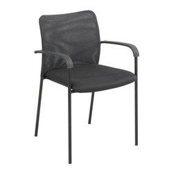 Safco - Safco 7092BL Vue Mesh Guest Chair - Black - Set of 2 - 7092BL - Shop for Chairs from Hayneedle.com! About Safco ProductsSafco products were specifically developed to meet the changing needs of the business world offering real design without great expense. Each product is designed to fit the needs of individuals and the way they work by enhancing comfort and meeting the modern needs of organization in the workplace. These products encourage work-area efficiency and ultimately work-life efficiency: from schools and universities to hospitals and clinics from small offices and businesses to corporations and large institutions airports restaurants and malls. Safco continues to offer new colors new styles and new solutions according to market trends and the ever-changing needs of business life.