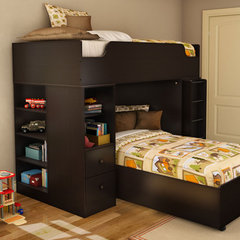 modern kids beds Logik Twin Loft Kids Bed
