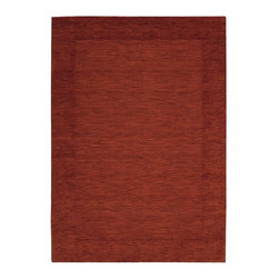 """Barclay Butera - Contemporary Ripple 3'6""""x5'6"""" Rectangle Barn Area Rug - The Ripple area rug Collection offers an affordable assortment of Contemporary stylings. Ripple features a blend of natural Barn color. Handmade of 100% Wool the Ripple Collection is an intriguing compliment to any decor."""