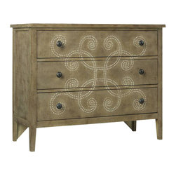 Hooker Furniture - Curlicue Chest - A chest of drawers doesn't have to look like a great, dark piece of furniture. It can look whimsical and eclectic. And this curlicue chest can double as a credenza or sideboard too. Of course, it also does a bang up job holding your clothes.