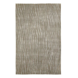 Candice Olson - Candice Olson Luminous Contemporary Hand Knotted Wool Rug X-319-1003NML - Surya's Luminous Collection is the result of combining refined luxury, elegant design and urbane sensibility. In sleek shades of cool gray, pale blue and soft black, each rug is a masterful creation. Hand-knotted from the finest Semi-Worsted New Zealand Wool, each rug represents superior craftsmanship and premier style that will blend seamlessly with any transitional or contemporary setting.