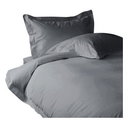 600 TC Sheet Set 24 Deep Pocket with 4 Pillowcases Silver Grey, King - You are buying 1 Flat Sheet (108 x 102 inches), 1 Fitted Sheet (76 x 80 inches) and 4 King-Size Pillowcases (20 x 40 Inches) only.