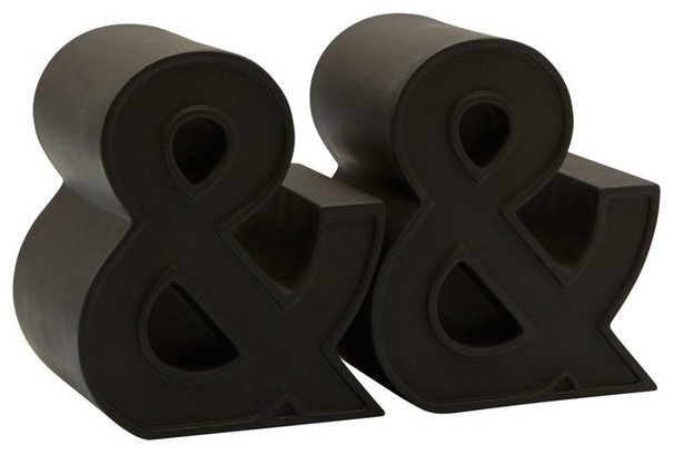 Contemporary Bookends by Indigo