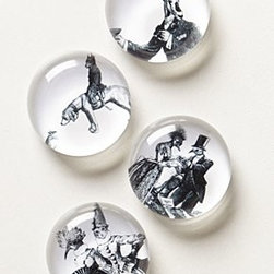 Anthropologie - Victorian Animal Magnets - *Glass
