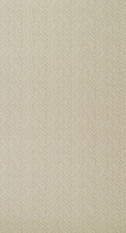 Kathy Kuo Home - Vintage Parquet Fishtail Wood Panel Wallpaper - Linen - A gentle and soft wood effect depicting vintage fishtailed Parquet flooring. Available in four great neutral shades to create a truly unique finish.