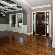 Contemporary Entry by David Weekley Homes