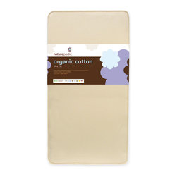 Naturepedic - Naturepedic 2 in 1 Organic Cotton Ultra Crib Mattress - Naturepedic Organic Cotton Ultra 2 in 1
