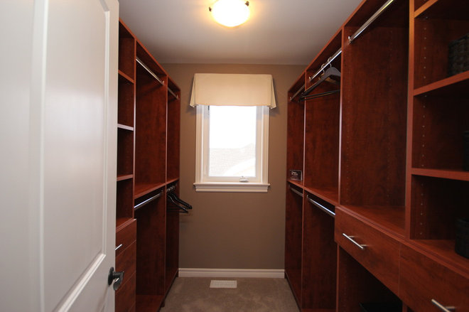 Contemporary Closet by Tamarack Homes