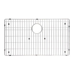 Ukinox - Ukinox GRS745 Stainless Steel Bottom Grid - Extend the life of your sink with Ukinox's custom fit stainless steel sink grid. Sleek and durable, this grid is designed for high volume residential kitchen usage. Features: Protects the bottom of your sink from scratches. Makes sink easier to clean. Great for drying glasses. Great for rinsing vegetables. Great for thawing meats.  Specifications: Total Product Length: . Total Product Width:  in. Total Product Thickness: 1 in. Product Weight: 2 lbs. Material: Stainless Steel.