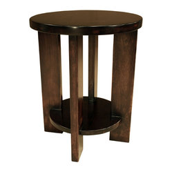 Luna Round End Table