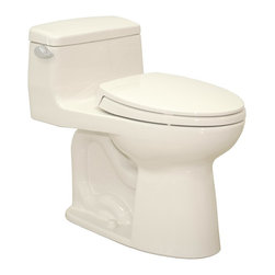 TOTO - TOTO MS634114CEFG#03 Supreme II One-Piece High-Efficiency Toilet with Sanagloss, - TOTO MS634114CEFG#03 Supreme II One-Piece High-Efficiency Toilet with Sanagloss, Bone When it comes to Toto, being just the newest and most advanced product has never been nor needed to be the primary focus. Toto's ideas start with the people, and discovering what they need and want to help them in their daily lives. The days of things being pretty just for pretty's sake are over. When it comes to Toto you will get it all. A beautiful design, with high quality parts, inside and out, that will last longer than you ever expected. Toto is the worldwide leader in plumbing, and although they are known for their Toilets and unique washlets, Toto carries everything from sinks and faucets, to bathroom accessories and urinals with flushometers. So whether it be a replacement toilet seat, a new bath tub or a whole new, higher efficiency money saving toilet, Toto has what you need, at a reasonable
